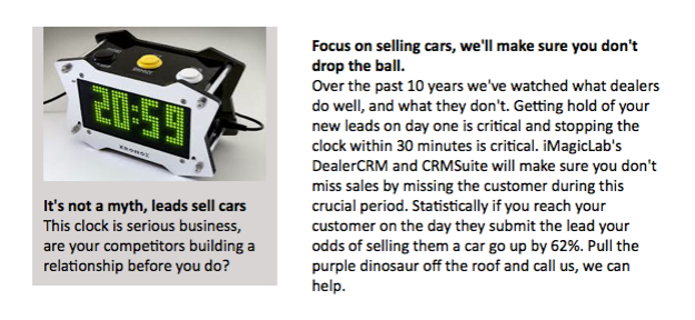 It's not a myth, leads sell cars